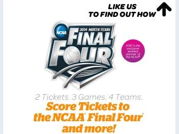 Ncaa Final Four Sweepstakes - at t u verse ncaa men s final four sweepstakes sweepstakes fanatics