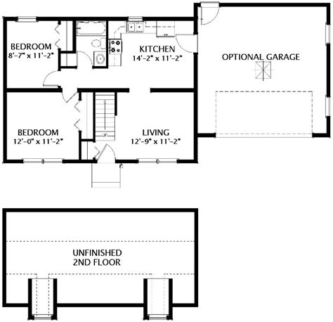 stratford modular home floor plan
