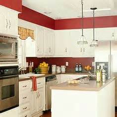 Red Kitchens With White Cabinets by 1000 Ideas About Red Kitchen Walls On Pinterest Kitchen