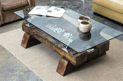 Railroad Tie Coffee Table Railroad Tie Coffee Table Timber Coffee Table Railroad Tie Coffee Table Timber Coffee Table For