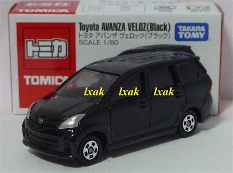 Toyota Avanza Veloz Black Tomica Takara Tomy Berkualitas tomica as 01 toyota avanza veloz 1 60 black free