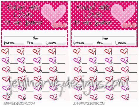 bunco score card templates valentines s bunco score sheet