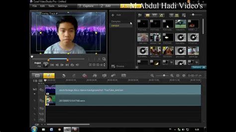 tutorial edit video corel videostudio chroma key tutorial with corel videostudio pro x6 youtube