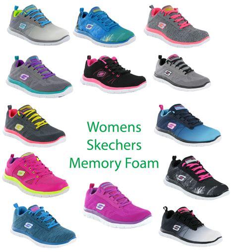 Skechers Memory Foam Womens Skechers Flex Appeal Memory Foam Comfort