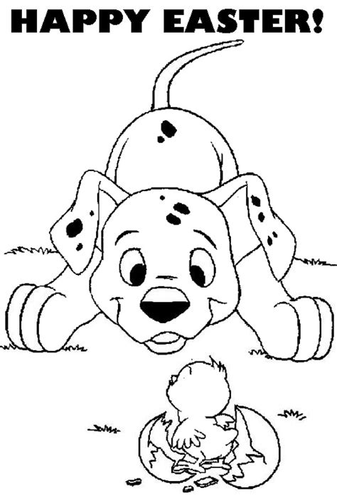 easter coloring pages with puppies easter colouring disney easter colouring picture