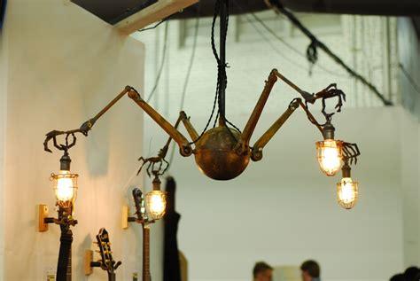 Spider Light Fixture Cave Steunk Spider Steunk L Steunk Chandelier Steam Creepy Chandelier