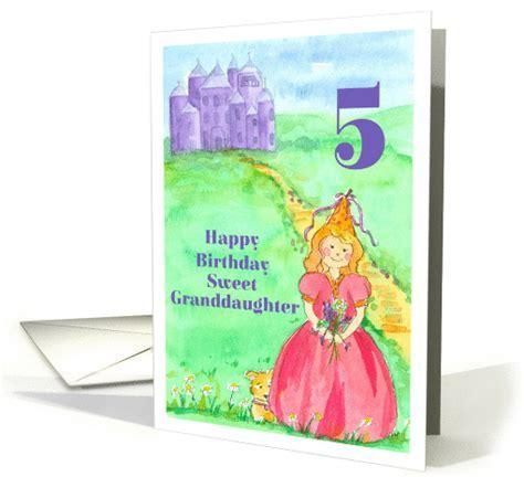 Happy 5th Birthday Granddaughter Princess Castle
