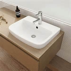 basin vanity caroma urbane inset basin buy at the blue space