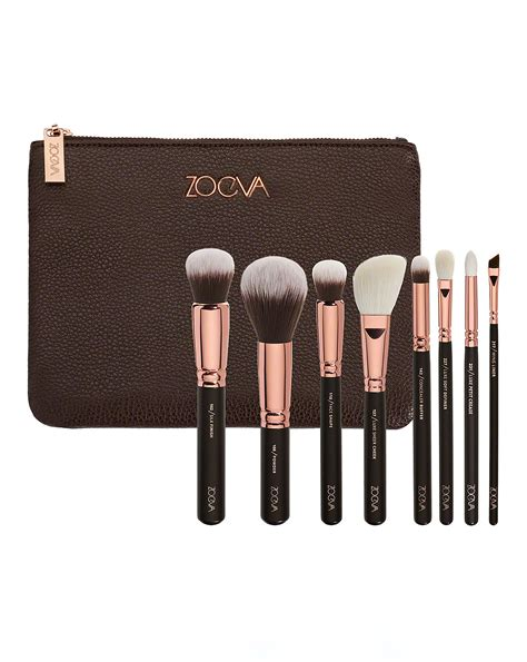Zoefa Brush golden luxury brush set volume 1 by zoeva