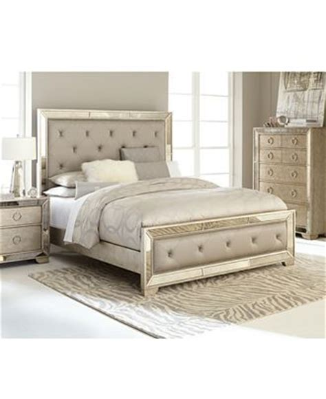 Macys Mirrored Furniture by Ailey Bedroom Furniture Collection Furniture Macy S