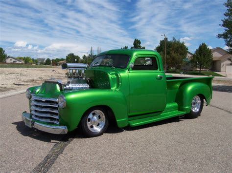 chevrolet 1950 truck for sale 1950 chevrolet truck rod blown tubbed national