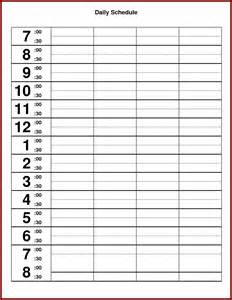 weekly hourly schedule template 24 hour weekly schedule printable calendar template 2016