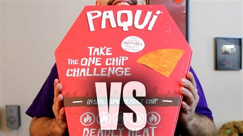 one challenge the one chip challenge carolina reaper tortilla chip from