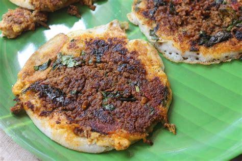 Recipes For Main Dishes - madurai kari dosai recipe mutton kheema dosa recipe yummy tummy