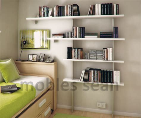 Small Bedroom Storage Shelves Space Saving Designs For Small Rooms