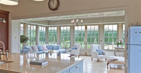 Conservatories And Orangeries Kitchens by Orangery Provides The Finishing Touch To A Completely