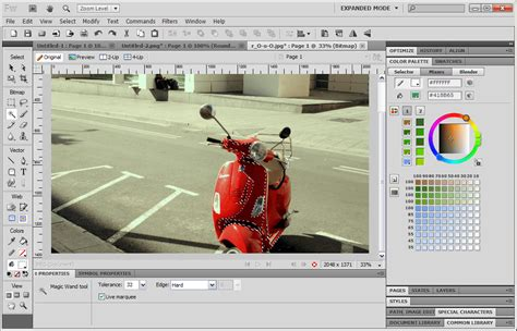 Editor De Imagenes Web Adobe Fireworks | adobe fireworks descargar