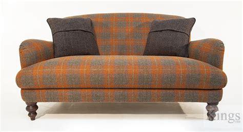 harris tweed settee tetrad harris tweed braemar petit sofa