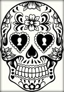 skull coloring pages for adults mexican sugar skull coloring pages for adults color zini