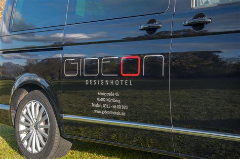 Fahrzeugbeschriftung Erlangen by Fahrzeugbeschriftung Gideon Hotel Focus