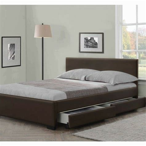 Kingsize Beds by 4 Drawers Leather Storage Bed Or King Size Beds