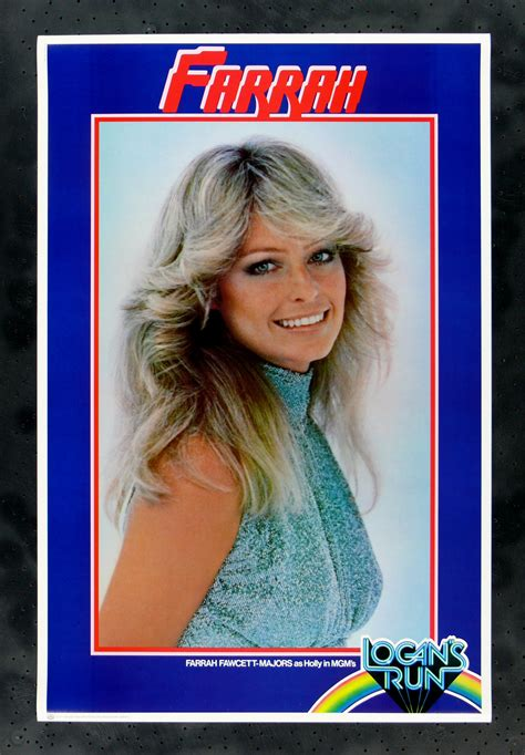 Farah Faucet Poster by Logan S Run Cinemasterpieces Farrah Fawcett Nos Pinup