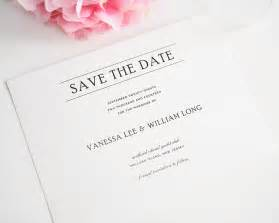 simple elegance save the date cards save the date cards by shine