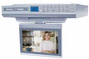 cabinet radio tv kitchen venturer klv39082 8 inch undercabinet kitchen