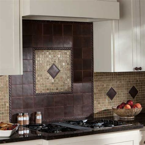 bronze tile backsplash backsplashes glass tile and kitchen backsplash mosaics and rubbed bronze