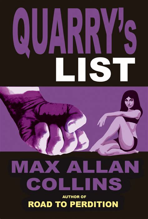 Pdf Quarry Black Max Allan Collins by The Official Fomac Website Quarry S List