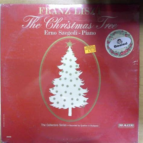 sealed 12 quot lp erno szegedi franz liszt the christmas tree