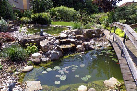 amenagement d un bassin de jardin bassin de jardin avec pont 224 walheim dans le sundgau