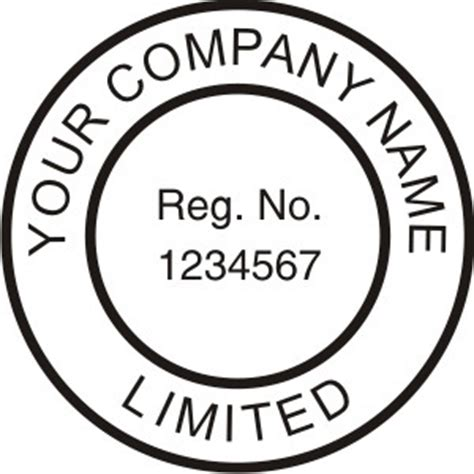 Howto Get A Company Seal Kenya Manual Corporate Seal Template