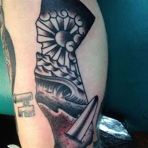 olde town tattoo california surf towne