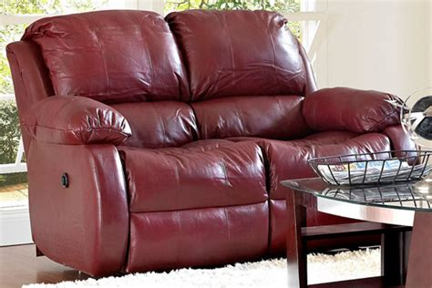 cherry leather sofa cherry reclining leather sofa loveseat at gardner white