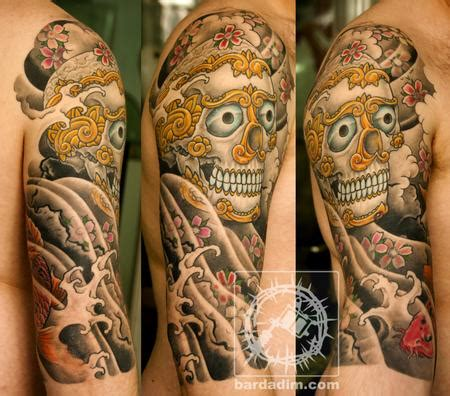 tibetan skull tattoo designs tibetan skull tattoos that i