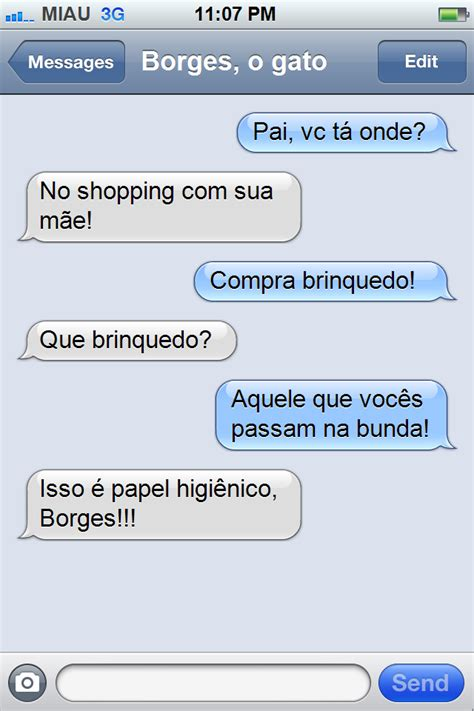 Memes For Iphone Texts - meme do iphone 171 borges o gato