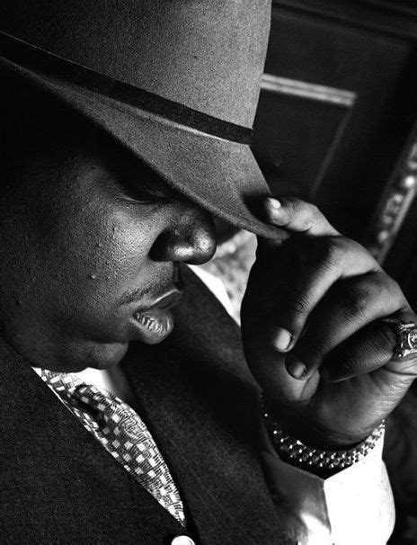 """biggie smalls - because he let everyone know """"sky's the"""