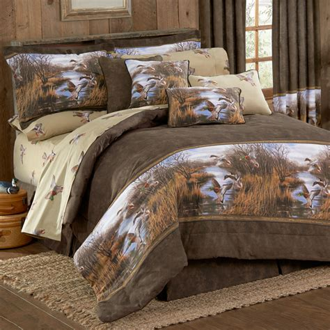 ducks unlimited bedding duck approach comforter set kimlor mills inc