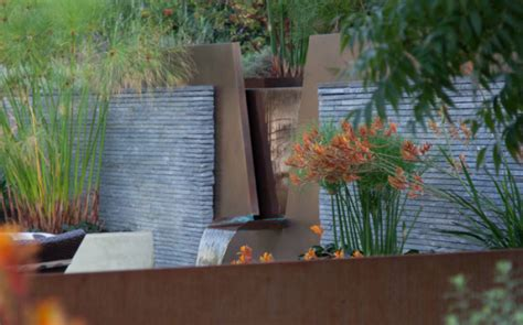 Modern Wall Water Features by Landscape Design Ideas Modern Garden Water Features