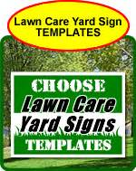 Yard Sign Templates Caign Lawn Sign Templates
