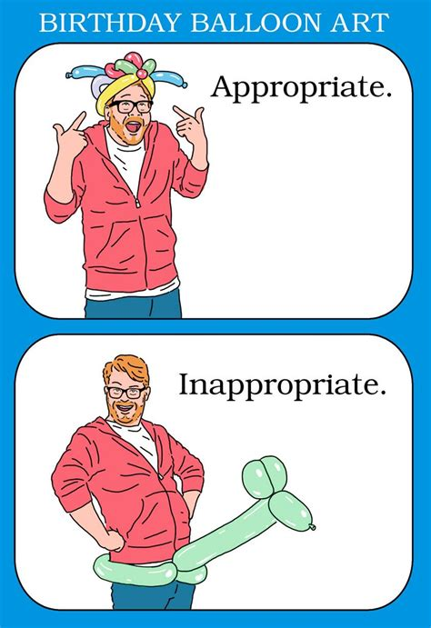printable birthday cards inappropriate appropriate amount of fun birthday card greeting cards