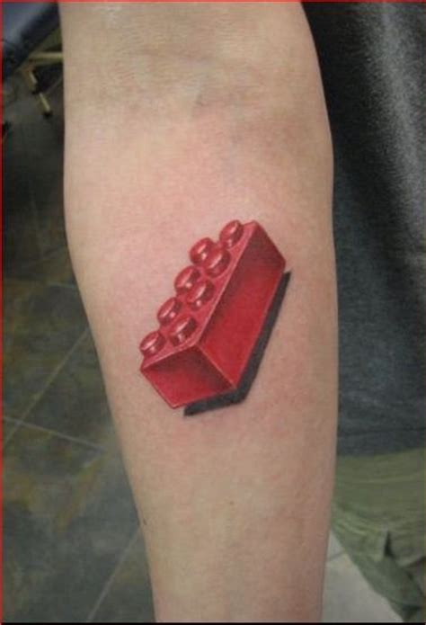 brick tattoo 53 best images about lego tattoos on smosh