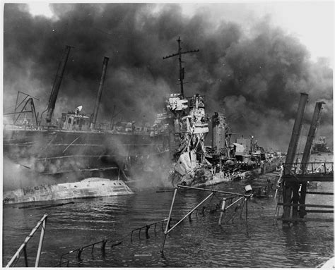 pictures from pearl harbor attack file naval photograph documenting the japanese attack on