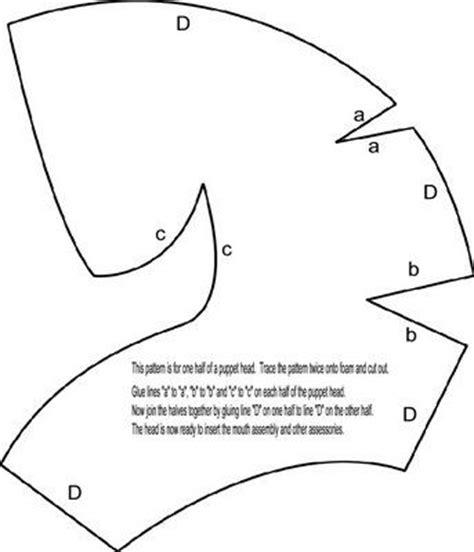 pattern making en espanol 67 best puppets patterns images on pinterest hand