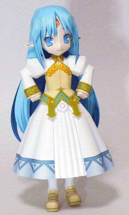Papercraft Doll - the world s catalog of ideas