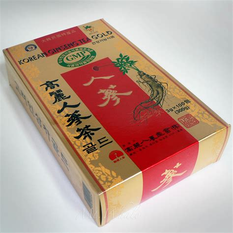 new korean ginseng tea 3g x 100 bags korea health