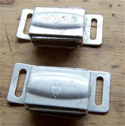 Kitchen Cabinet Magnetic Latches two vintage 1960 s chrome ajax kitchen cabinet cupboard
