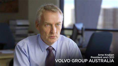 volvo group australia choose brisbane volvo group australia testimonial arne