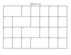 advent calendar card template advent calendar templates 2012 praying in color